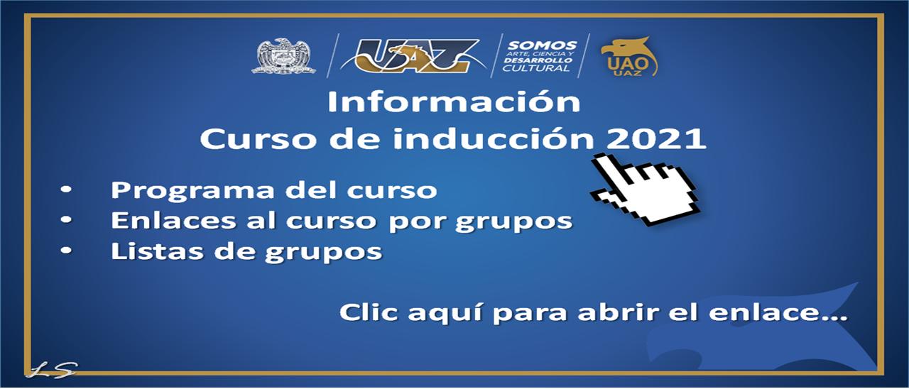 Induccion 2021 CARRUC